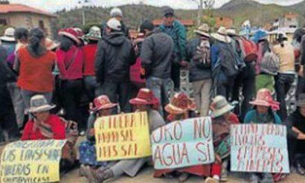 Comuneros mantienen tomadas instalaciones de minera Anabi