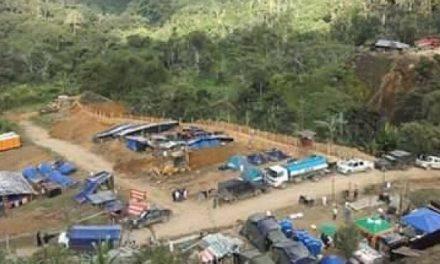 Comuneros de la nacionalidad shuar tomaron campamento minero de Ecuacorriente
