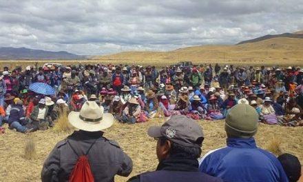 Pobladores se levantan contra minera Hudbay en Cusco