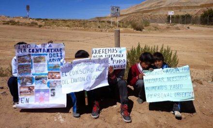 Empresas mineras consume similar o mayor cantidad de agua que Oruro en un día