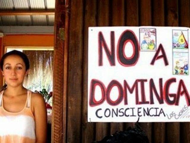 Mina Dominga que amenaza la Reserva Nacional de Pingüinos de Humboldt