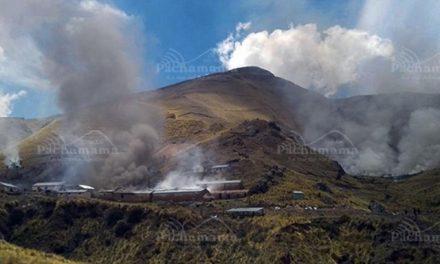 Los pobladores exigen el retiro definido de la minera Solex del Perú de de Orurillo
