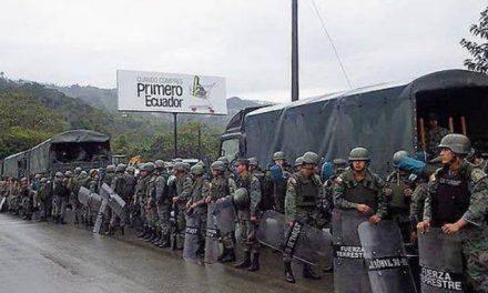 Panantza y San Carlos foco de intervención militar para proteger a minera