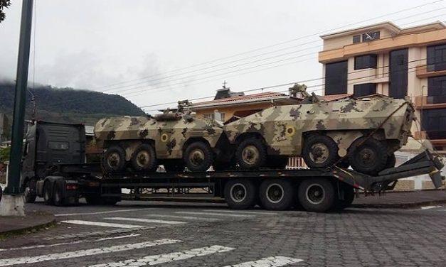 Militarización y violencia como parte de la imposición de la minería en territorio Shuar