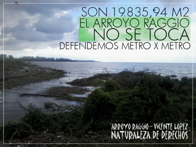 Arroyo Raggio: la Justicia Federal frena las obras de dragado