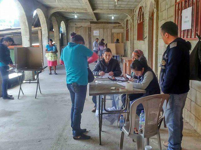 San Carlos Alzatate dijo NO a la minería en consulta municipal