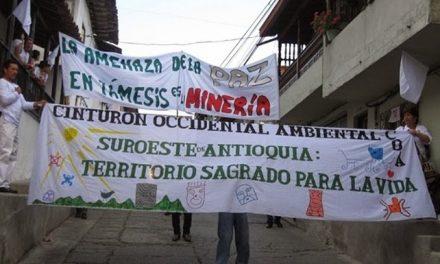 Autoridades y habitantes de Támesis se unen en contra de la minería en su municipio