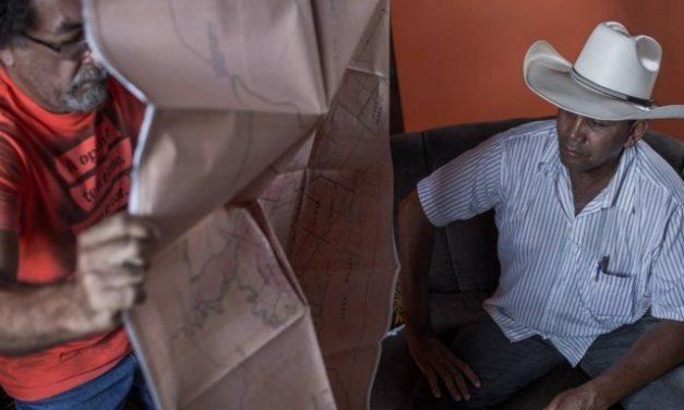 """Campesinos del movimiento """"Los sin tierra"""" desafían a un gigante minero en la Amazonia"""