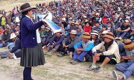 Por las protestas comunitarias, Perú pide modificaciones al estudio ambiental de minera Las Bambas