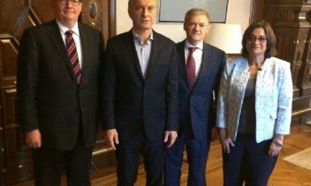 De qué hablaron el presidente Macri y la gobernadora Corpacci con Yamana Gold