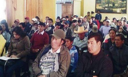 Frente ambientalista de Bambamarca acuerda paro antiminero en Cajamarca