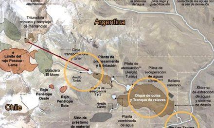 La crecida de un río trajo problemas en la mina Lama de Barrick Gold