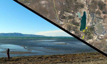 El silencio y la inacción del gobierno mientras se seca el lago Colhue Huapi y desciende el nivel del Musters