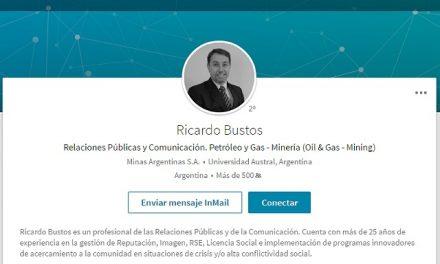 El gerente de comunicaciones de Minas Argentinas/Yamana Gold contratado en Radio Nacional Esquel