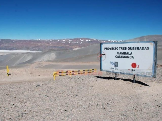 Fiambalá y Tinogasta padecen a la minera canadiense Neo Lithium