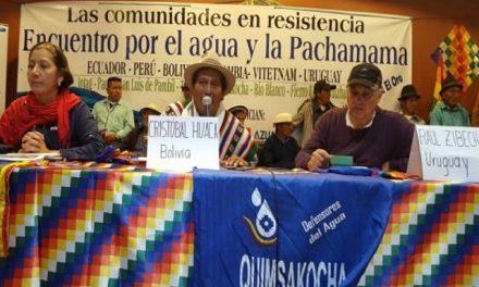 Las organizaciones sociales presionan a los presidenciales por el tema minero