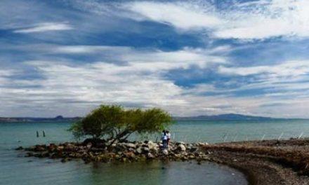 El lago Muster desaparece y se debería al desvío del Río para beneficio de una empresa