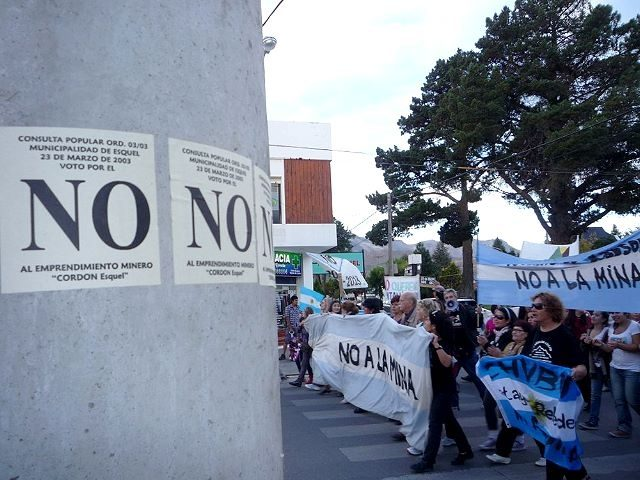Chubut no firmará el nuevo acuerdo que profundiza el despojo minero