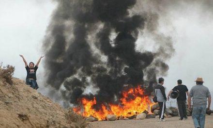 Prenden barricadas en rechazo a proyecto minero Dominga