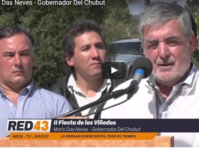 """Das Neves habló de coimas de las mineras en Chubut y dio su """"no a la megaminería"""""""