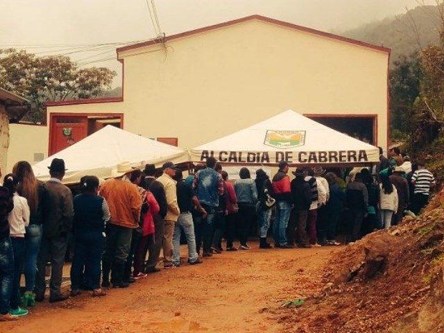El 'NO' a hidroeléctricas y minería en Cabrera ganó con el 97.28% de los votos