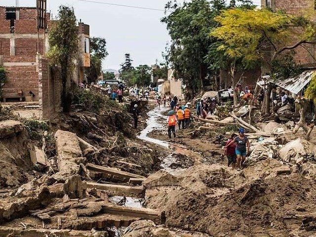 Cambio climático, deforestación y minería, la causa de los desastres en Perú