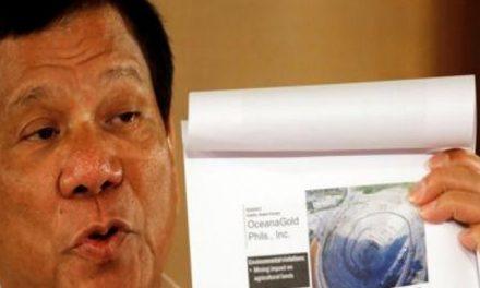 Presidente Filipinas vincula a mineras con plan de desestabilización, quiere prohibir la actividad por sus daños ambientales
