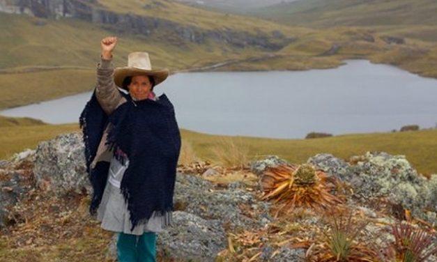 Máxima Acuña lucha para no ser desalojada por minera Yanacocha