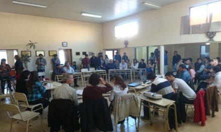 Reunión de Perito Moreno: Ampliar el parque provincial para frenar la minería cerca de Cueva de las Manos