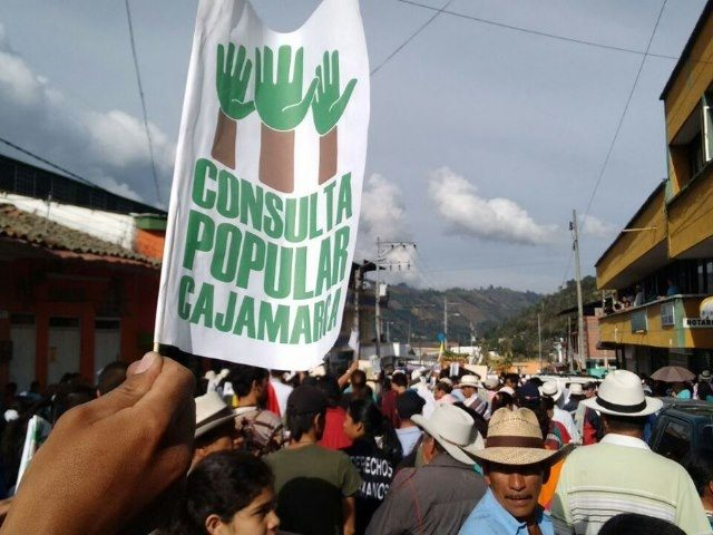 El 26 de marzo será la consulta minera en Cajamarca