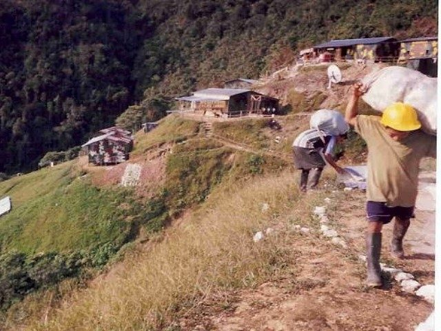 Reservistas awajún destruyen campamento minero de empresa Afrodita