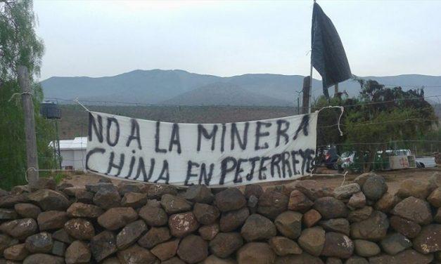 En Pejerreyes se eleva la tensión por conflicto minero