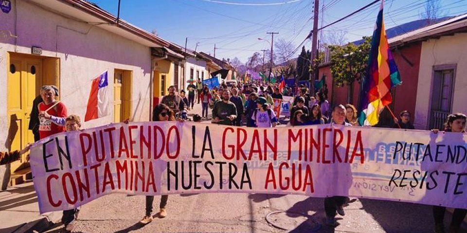 Efectiva resistencia a proyecto minero Andes Cooper en Putaendo