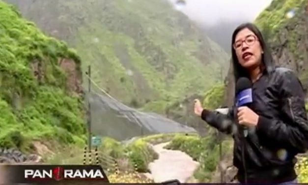 El río Rímac provee de agua a Lima y está amenazado por relave minero