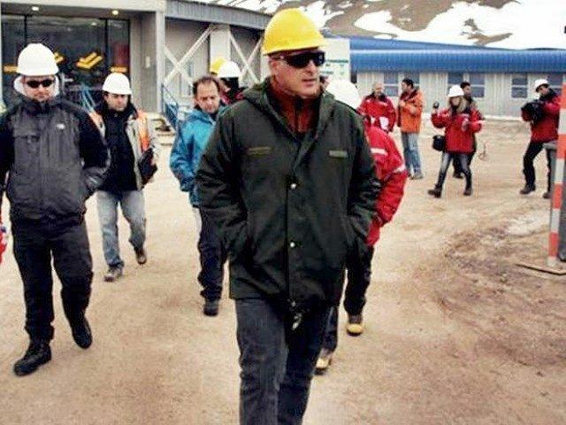 Una semana después del derrame en mina Veladero, el juez Oritja realizó una inspección