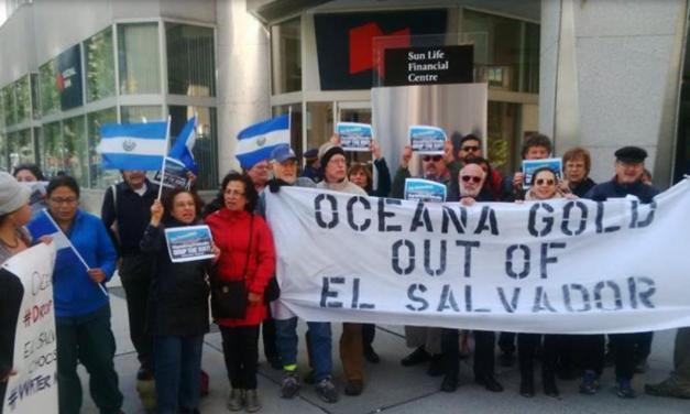 El Salvador congela bienes y cuentas bancarias de minera OceanaGold
