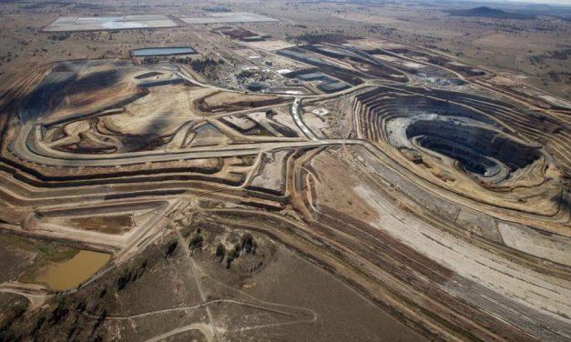 Los niveles de radón en una mina de oro son elevados