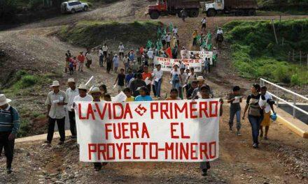 Demandamos la cancelación del modelo extractivo minero en Panamá