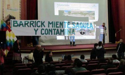 Vecinos de Vicuña se oponen a proyecto minero de Barrick Gold