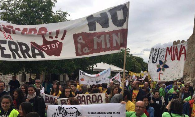 Voces al unísono contra las minas en la provincia de Ávila