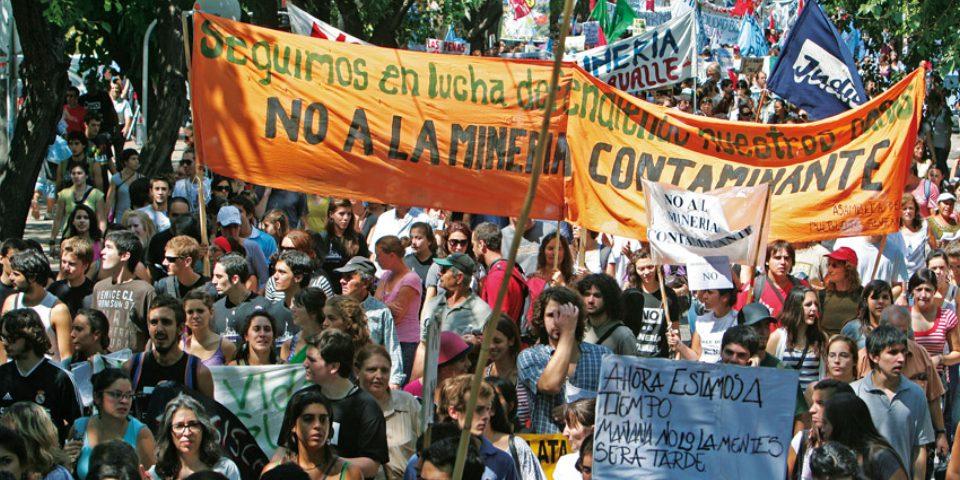 Asambleas mendocinas repudian Acuerdo Federal y política minera provincial