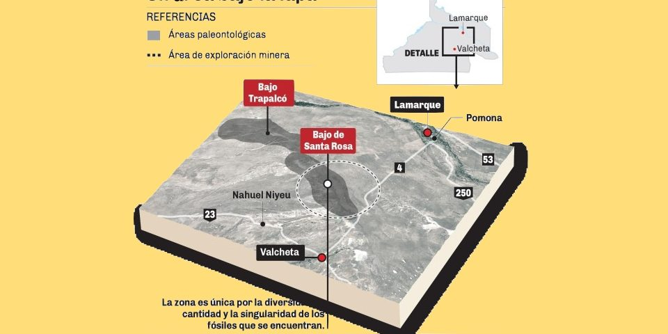 Minera Cielo Azul está explorando uranio en la Patagonia rionegrina