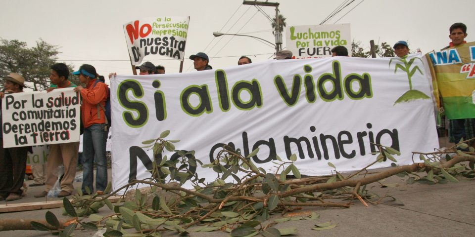 Minería no produce desarrollo ni empleos en México