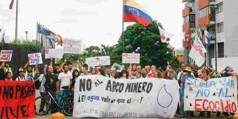 Venezuela sigue entregando su minería