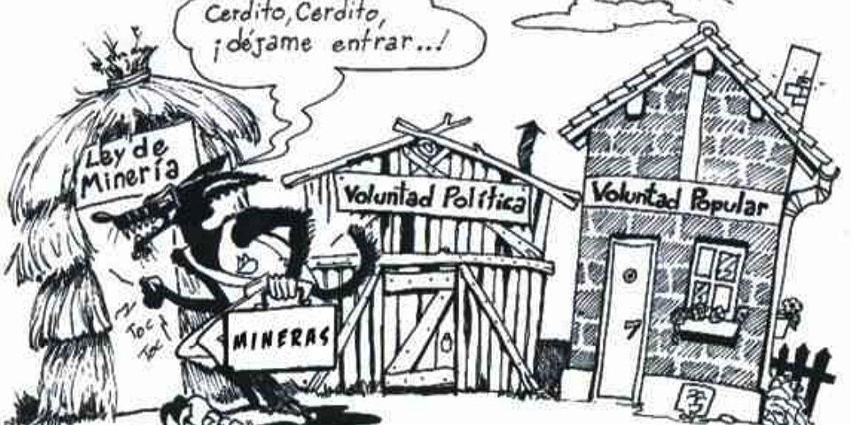 Un acuerdo para no enojar a las mineras y que siga la entrega y la contaminación
