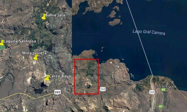 Minera Cerro Bayo vertería en humedal 580.000metros cúbicos de agua de unaminaabandonada