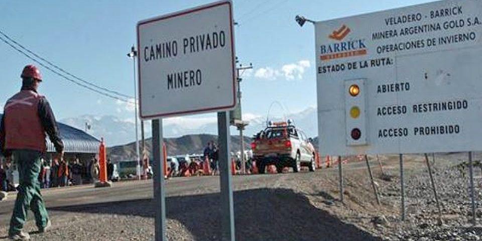 Encontraron llamas muertas cerca de la mina Veladero de Barrick Gold