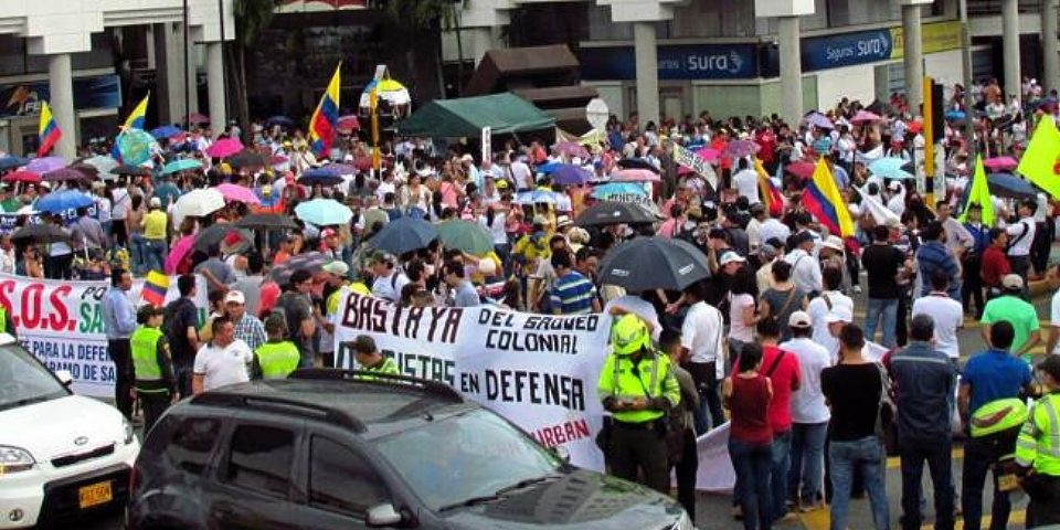 Bumangueses rechazan nuevo proyecto minero en Santurbán