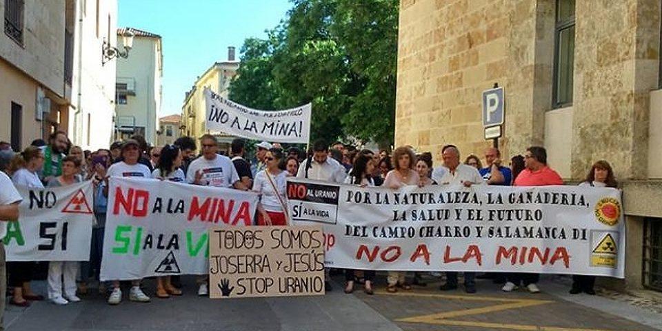 El pleno municipal de Salamanca rechaza por mayoría el proyecto de mina de uranio