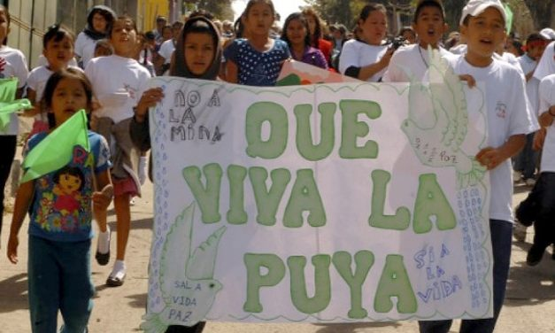 La resistencia pacífica de la Puya logra suspención de proyecto minero
